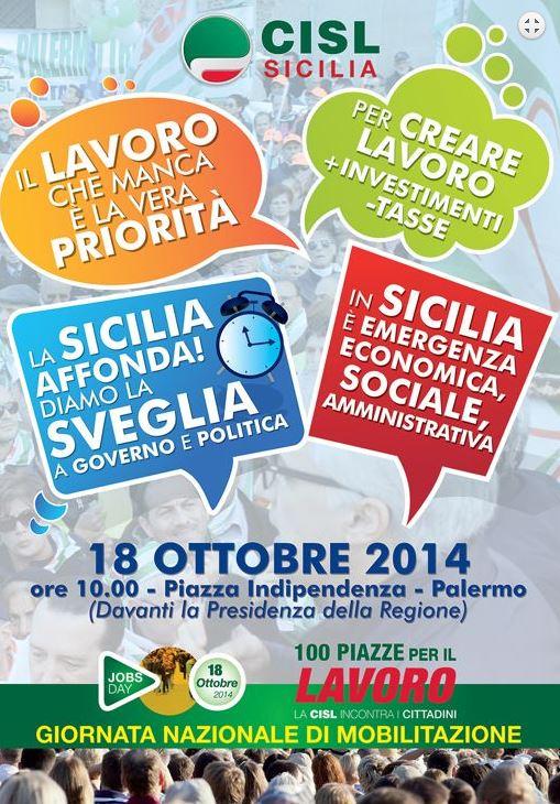 manifestazione 18 ottobre