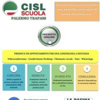 Consulenza sedi Cisl Scuola Palermo Trapani