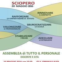 Assemblea unitaria il 16 maggio a Palermo